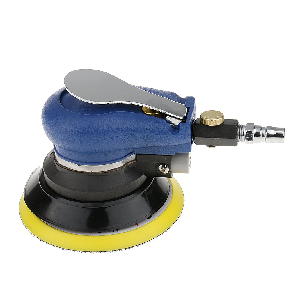 MonkeyJack 5'' Orbital Air Sander Car Body Polishing Pnuematic Air Tool