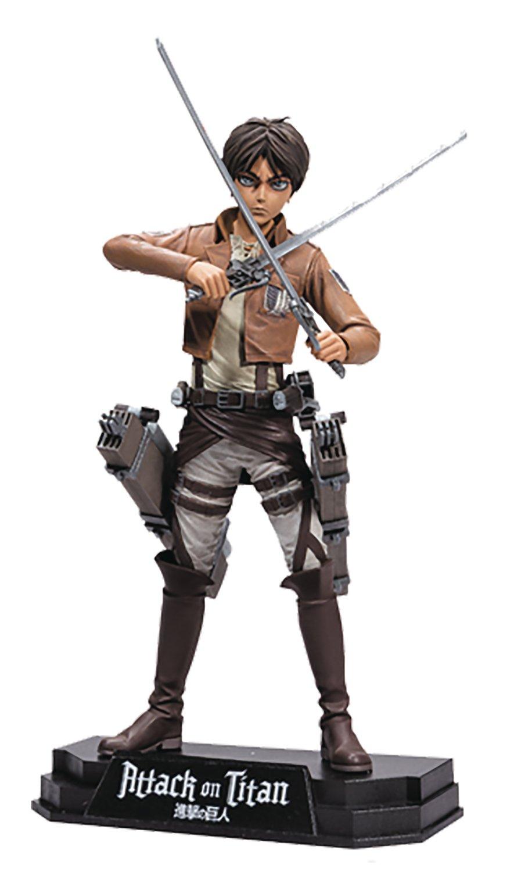 "McFarlane Toys Attack On Titan Eren Jaeger 7"" Collectible Action Figure"