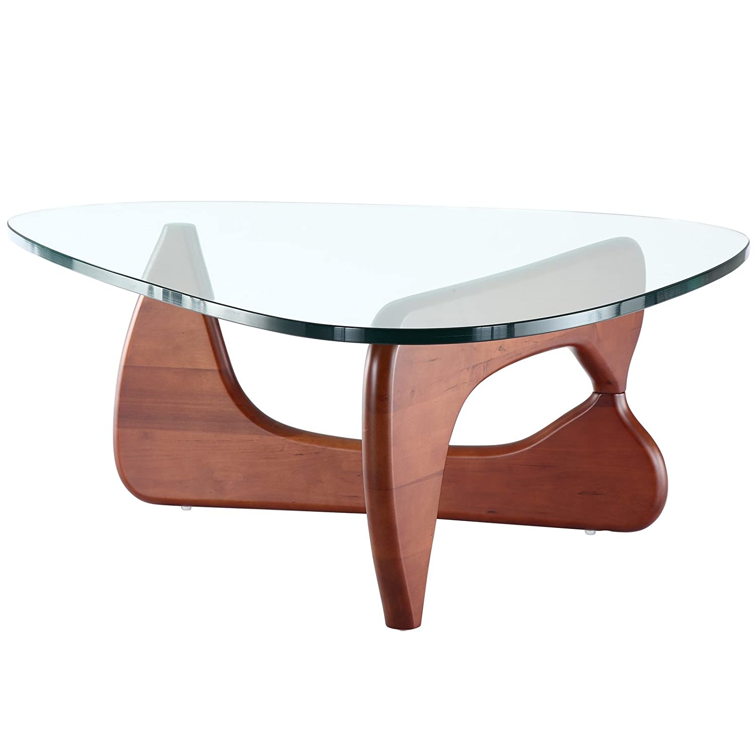 Amazon Modway Triangle Coffee Table in Cherry Kitchen & Dining