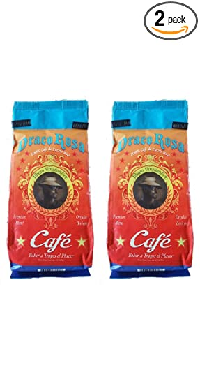 Draco Rosa - Cafetera orgánica de Puerto Rico (2 bolsas de 8 ...