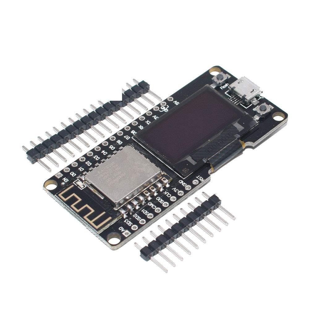 0.96 Inch OLED Display Wemos ESP8266 ESP-12F ESP12F CP2102 Wireless WiFi Development Board Micro USB 0.96 for Arduino NodeMCU