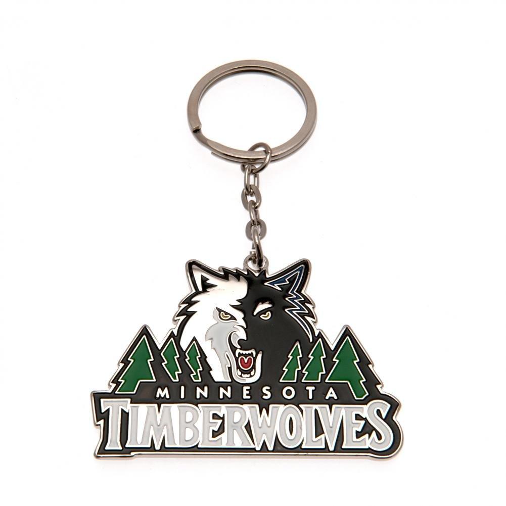 NBA Schlüsselanhänger Keyring (Minnesota Timberwolves) KYRUKNBCRSMTW