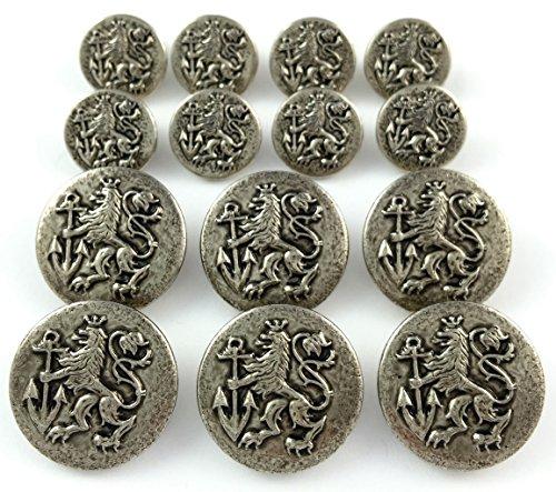metalblazerbuttonscom-brand-antique-silver-finished-lion-anchor-crest-metal-blazer-button-set-14-pie