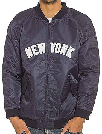Majestic New York Yankees MLB - Chaqueta de satén Suave ...