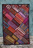 Embroidered  Patchwork Kuchi Tapestry Wall Hangings