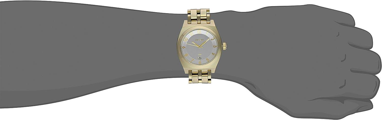 Nixon Men's Monopoly Watch Light Gold-Tone/Silver-Tone