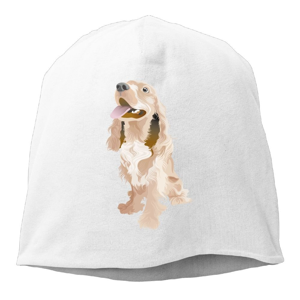 Janeither Headscarf Long Haired Dog Hip-Hop Knitted Hat for Mens Womens Fashion Beanie Cap