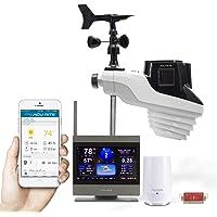 AcuRite 01007M Atlas - Estación meteorológica con visualización táctil HD, monitorización remota y detección de luz