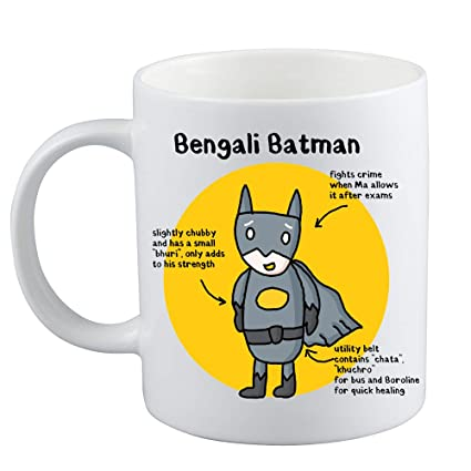 Bengali Coffee Rare Batman Sense Bong Mug Planet sdrhCtQ