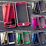 9H Hardness Front+Back Mirror Tempered Glass Screen Protector Film Case For iPhone 6 /iphone6 Plus/ iphone 6s / iphone5 / iphone4 / iphone se