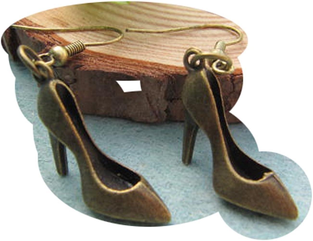 High Heeled Shoe Earrings