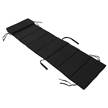 SoBuy® OGS28-P02,Cojín para tumbonas con almohada,170 x 50 ...
