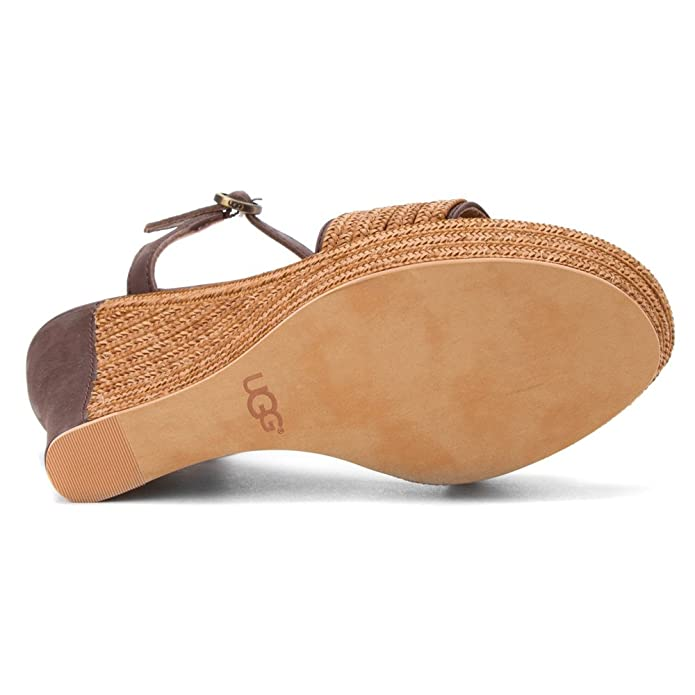 a669548b377 Amazon.com | UGG  Australia Women's Fitchie Chocolate Leather 9 M ...