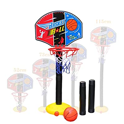 MUDEREK Children Sports Basketball Stand Loop Adjustable Lifting Indoor Outdoor Toys Toy Basketball: Clothing