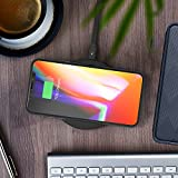 Wireless Charging Pad RAVPower QI Fast Wireless Chargers Quick Charge, Standard Charge for iPhone X / 8 / 8 Plus / Nexus / Xperia & Fast Charge for Galaxy S8 / S8+ / S7 / S7 Edge