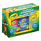 Crayola 3 Ct Fingerpaints,,  School, Craft, Painting and Art Supplies, Kids, Ages 3,4, 5, 6 and Up, Holiday Toys, Arts and Crafts