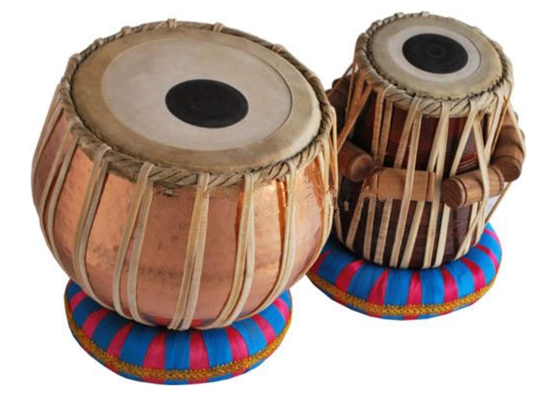 高質 Makan Bag Sheesham Made Wood Hand Made Lacquer Polish Copper Bayan Bayan & DayanTabla Set Percussion Musical Instrument with Carry Bag & Cushion B07QGZCBT1, カキザキマチ:d675c8d2 --- a0267596.xsph.ru