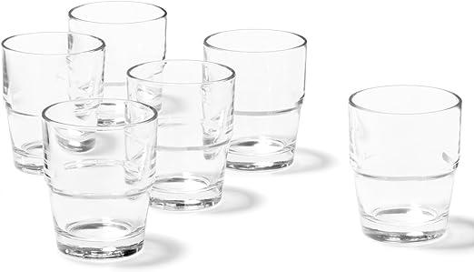 """LEONARDO 043400 /""""Solo/"""" 043400 Latte Macchiato Wasser Becher /""""Solo/"""" 370ml, Glas"""