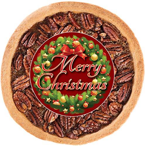 CHRISTMAS PECAN COOKIE PIE ()