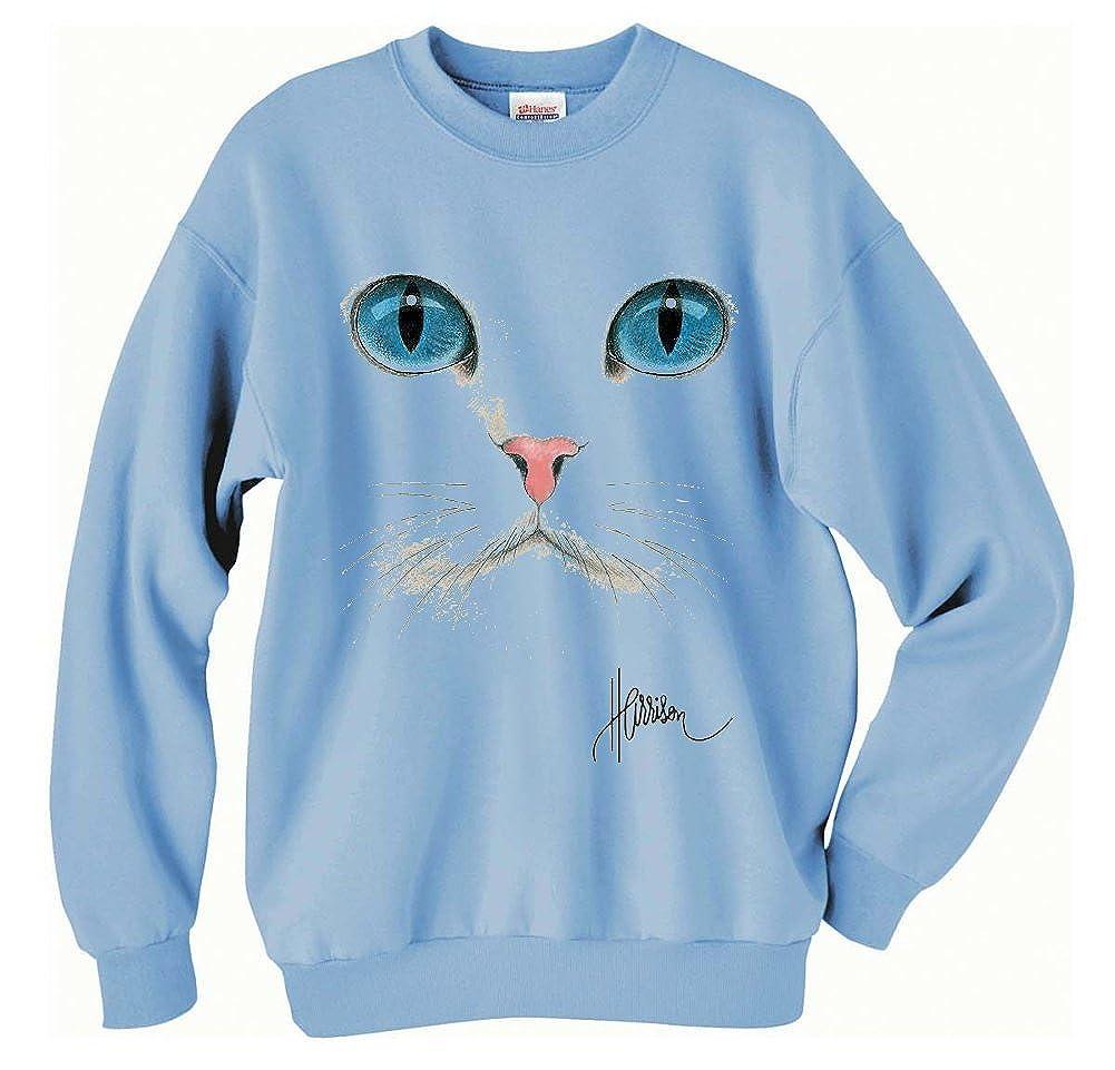 Cat Face Uni-Sex Sweatshirt