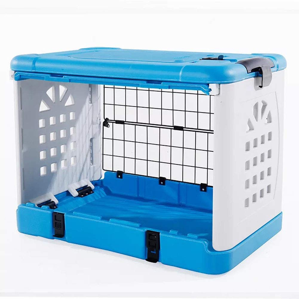 684653cm SJZC Air box dog cageTravel Transport Cage Door Plastic Handle Chrome Plated