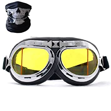 amazon com badass sharks motorcycle glasses plated frame reflective