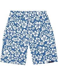 JoJo Maman Bebe Bermuda Shorts (Toddler/Kid) - Blue Hawaiian-4-5
