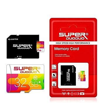 Ash Tarjeta De Memoria SDXC, Tarjeta Micro SD con Adaptador ...