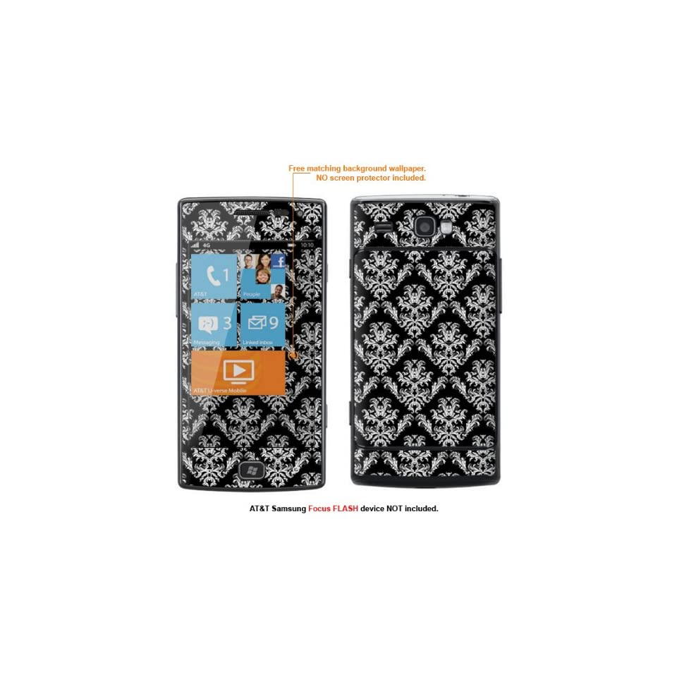 Protective Decal Skin Sticker for AT&T Samsung Focus Flash (Only fit Focus Flash Model) case cover FocusFLASH 169