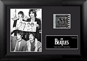 Trend Setters The Beatles Minicell 35mm Vintage Film Cell Display S11 w/COA
