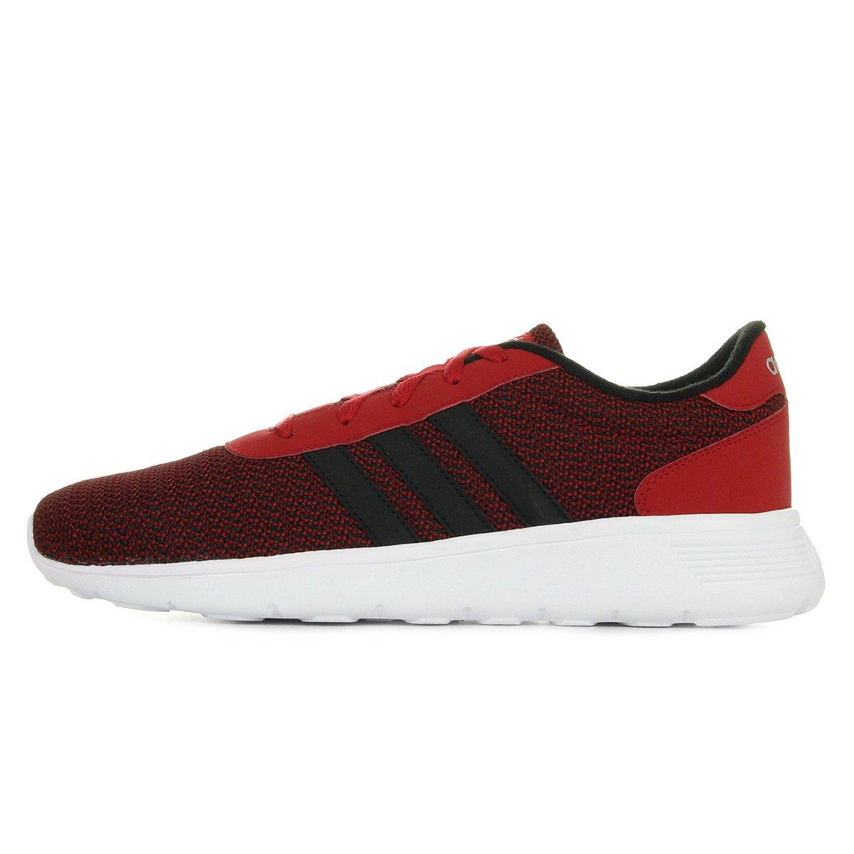 Adidas Lite Racer, Zapatillas de Deporte para Niños 43 1/3 EU|Rouge