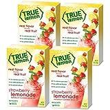 True Lemon STRAWBERRY LEMONADE (Pack of 4) 10ct each box. True Citrus (Strawberry Lemonade)