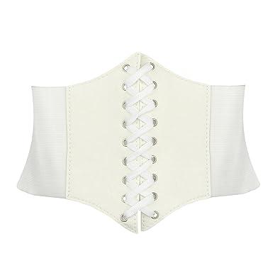 TopTie – Ceinture corset, 17,8 cm de large  Amazon.fr  Chaussures et ... db3a825f045