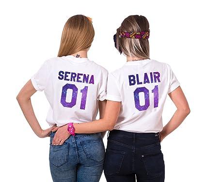 Sister Best Friends T-Shirt für Zwei Damen Mädchen Shirts Sommer Oberteil  Tshirt als Geburtstagsgeschenk 197ae1bf61