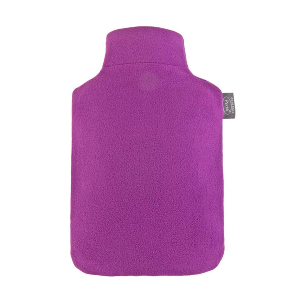 Premium Classic Rubber Hot Water Bottle,Purple