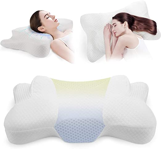 For Side Sleepers Get Good Sleep Side Solution Pillow No Neck Shoulder Stiff
