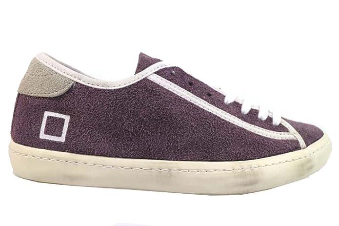 D.A.T.E. Scarpe Donna (Date) Sneakers Viola Camoscio AP521 (37 EU):  Amazon.it: Scarpe e borse