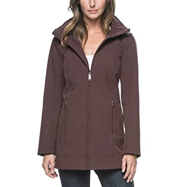 Andrew Marc Ladies' Long Softshell Jacket at Amazon Women's Coats Shop