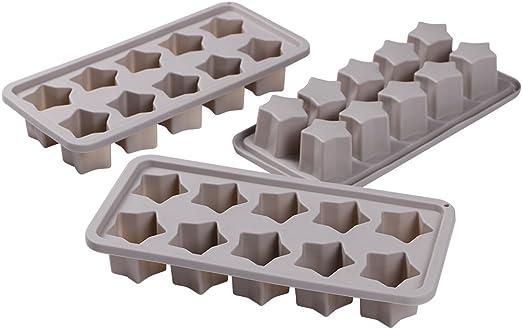 Two 2 Core Kitchen Gemstone Ice Tray Silicon Mold DIY
