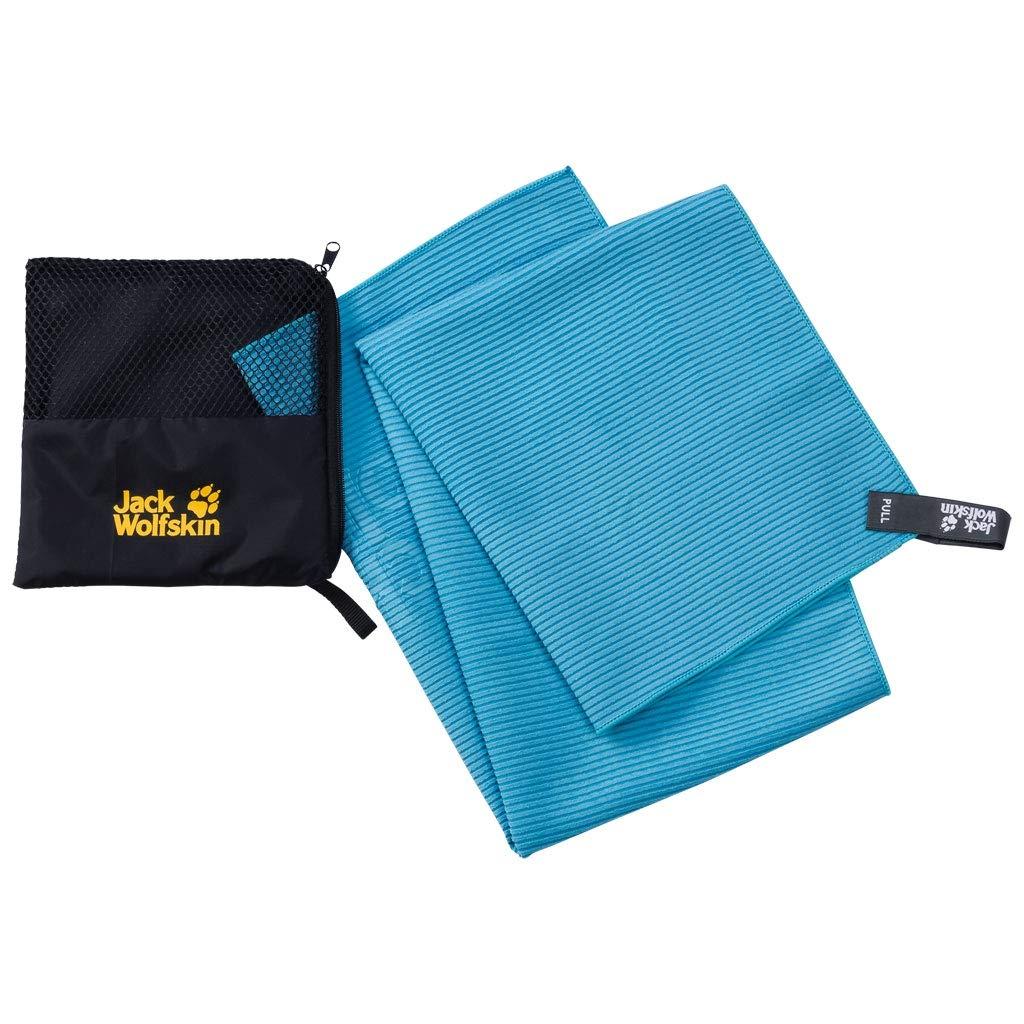 Jack Wolfskin Great Barrier Towel M Turquoise 2019 - Toalla de Mano