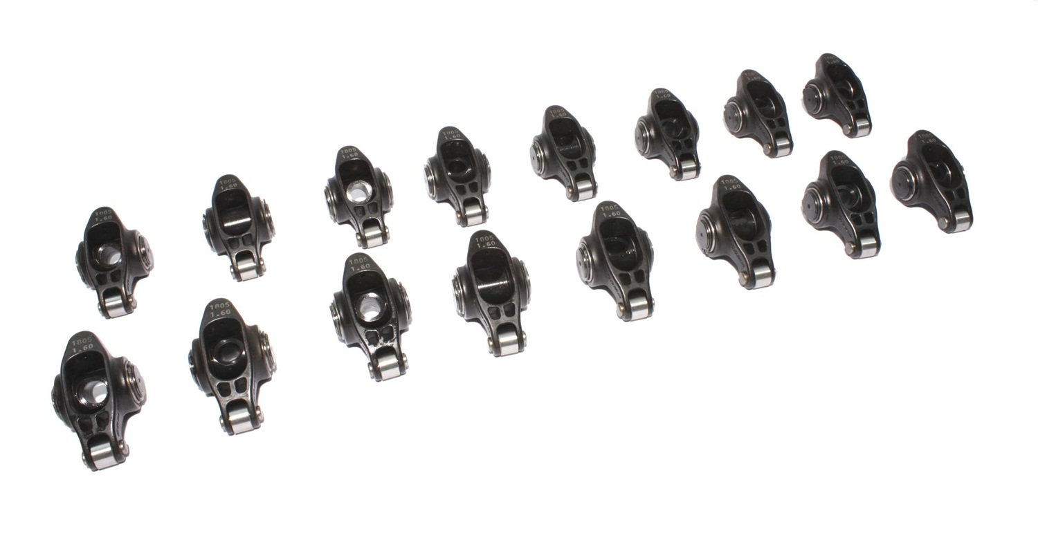 COMP Cams 1805-16 Ultra Pro Magnum 7//16 Stud Diameter XD Roller Rocker Arm for Small Block Chevrolet