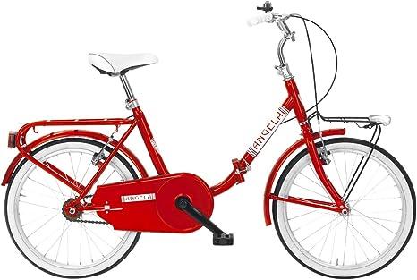 MBM Angela Bicicleta Plegable, Rojo, M: Amazon.es: Deportes y aire ...
