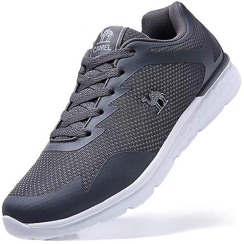 CAMEL CROWN Zapatillas Deporte de Running para Hombres Zapatillas de Deporte Ligeras y Transpirables Zapatillas de Deporte Atléticas Ocasionales: Amazon.es: ...