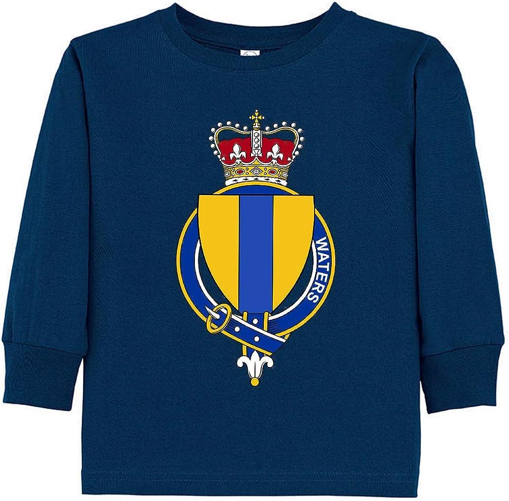 Tenacitee Toddlers English Garter Family Waters Long Sleeve T-Shirt