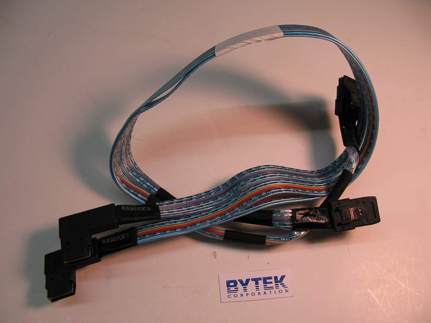 HP 684541-001 HP 684541-001 MiniSAS 2X Straight to 2X 90/° Angle Data Cable