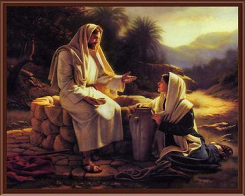 Pintura Por Numeros (itm-7562) Religion