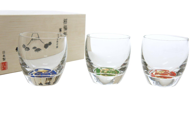 Glass Bottle Company µŸCup Fujimi Shochikubai Cup 3 Tanesoroe G086-T238 oriental Sasaki glass
