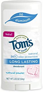 product image for Tom's of Maine, Natural Long Lasting Aluminum Free Deodorant - Natural Powder, 2.25 Ounce