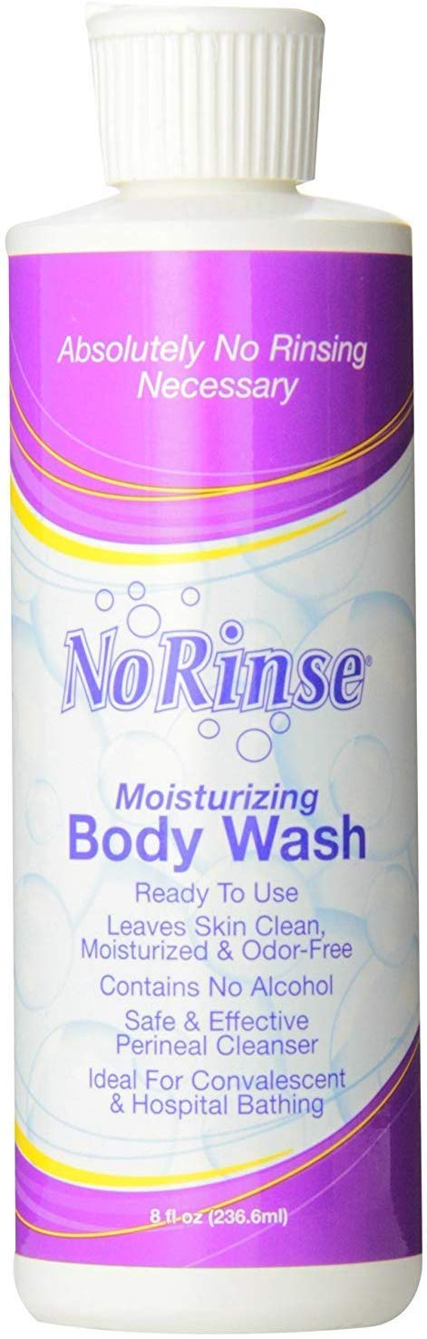 No Rinse Body Wash-Packaging: 8 fl oz Bottle - UOM = Case of 24 by Clean Life Products