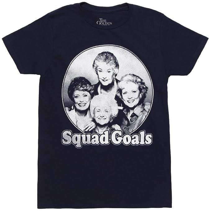 3a6d428fc Amazon.com: Golden Girls Squad Goals Adult T-Shirt: Clothing